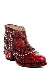 Free People Red Boots