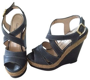 Gastone Lucioli Blue Wedges