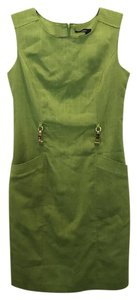 Ellen Tracy short dress Lime Green on Tradesy