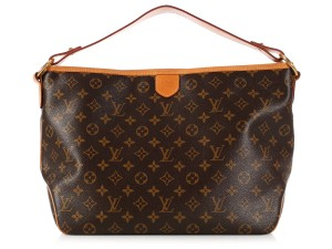 Louis Vuitton Lv.l0324.11 Pm Brown Canvas Leather Hobo Bag