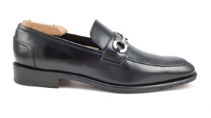 Salvatore Ferragamo Men's Shoes Leather Bit Loafer Black