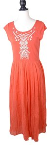 Free People Embroidered Crochet Anthropologie Dress