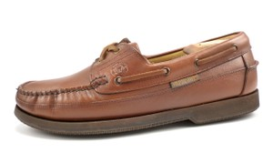 Mephisto Hurrikan Men's Shoes Leather Boat Deck Oxfords