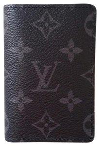 Louis Vuitton *New with Tags* Pocket Organiser Monogram Eclipse Wallet