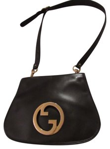 Gucci Equestrian Accents Blondie Bold Gold Accents Supple Mint Vintage Hobo Bag