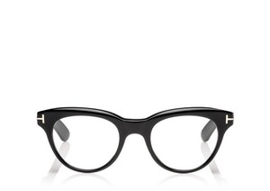 Tom Ford NEW Tom Ford TF5378 Black Cat Eye Thick Rim Eyeglasses