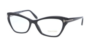Tom Ford NEW Tom Ford FT 5376 Black Cat Eye Eyeglasses Frames