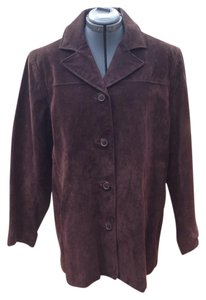 Colebrook & Co. Chocolate Brown Leather Jacket