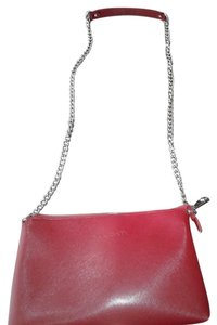 Pulicati Leather Leather And Chain Made In Italy Cross Body Bag