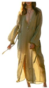 Moss Maxi Dress by Free People Beach Cover Up Kaftan