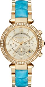 Michael Kors FLASH-SALE Parker Acetate Chronograph watch MK6364