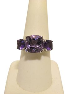 "Colleen Lopez Colleen Lopez ""Palace Jewels"" Rose de France Gemstone Ring 7"