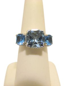 "Colleen Lopez Colleen Lopez ""Palace Jewels"" Sky Blue Topaz Ring 7"