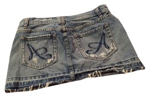 Other Mini Skirt denim