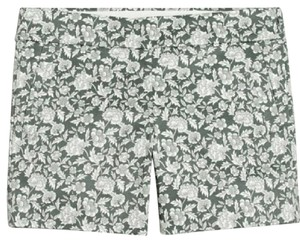 J.Crew Chino Stretchy Pants Dress Shorts Gray/White