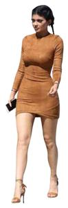 House of CB short dress brown on Tradesy