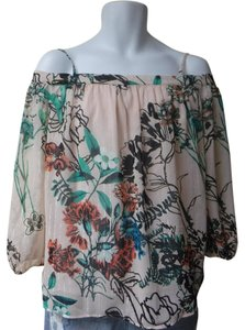 New York & Company Top pale pink