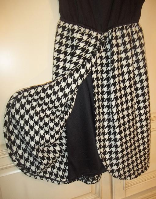 Judith March short dress black white Houndstooth Pattern Tank Babydoll Short on Tradesy Image 3