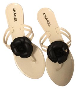 a69ec9cc5f9c Chanel Sandals on Sale - Up to 70% off at Tradesy