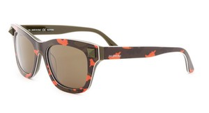 Valentino New Valentino Rockstud Sunglasses Camo/Orange