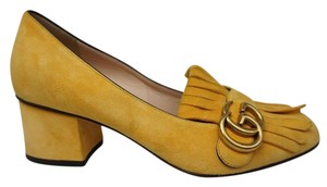 Gucci Yellow Pumps