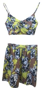 Torn by Ronny Kobo Skirt Yellow