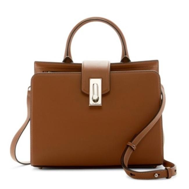 Item - Shoulder Bag West End Tote Maple Brown Silver Leather Satchel