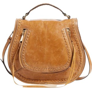 Rebecca Minkoff Saddle Camel Cross Body Bag