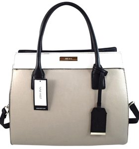 Nine West Satchel in grey multi