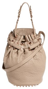 Alexander Wang Leather Studded Lambskin Shoulder Bag