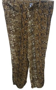 Nieves Lavi Baggy Pants Animal Print