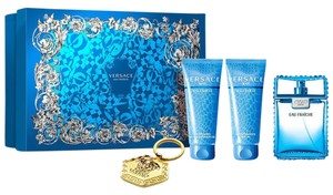 Versace VERSACE EAU FRAICHE for Men GIFT SET 4 Pcs( See Description)