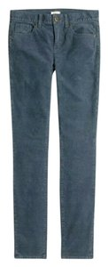 J.Crew Cord Corduroy Gray Skinny Pants Dark Gravel (Gray)