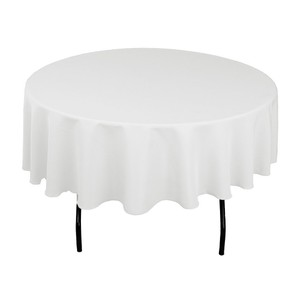 30-white 5' Tablecloths