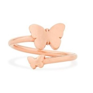 Alex and Ani Butterfly Ring