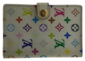 Louis Vuitton monogram multicolore white canvas mini agenda cover