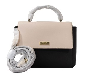 Kate Spade Paterson Court Brynlee / Upc: 098689978147 Satchel in Black / Pebble