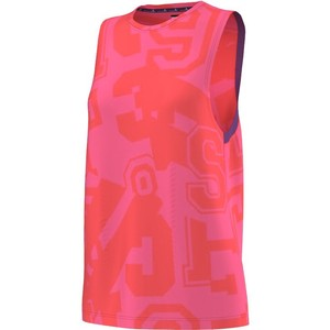 adidas ADIDAS STELLASPORT COTTON TANK PINK. New with tags