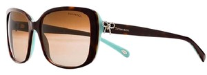 Tiffany & Co. TIFFANY & CO Tortoise & Blue Gold Bow Sunglasses! *come with case*