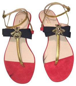 Gucci Red and black Sandals