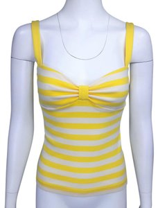 Marc Jacobs Top Yellow & White