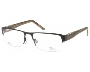 Jaguar Jaguar Eyeglasses Spirit 39338 865 Chocolate Brown Bark