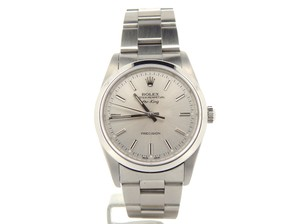 Rolex Mens Rolex Stainless Steel Air-King Silver 14000M