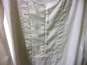 Old Navy Button Down Shirt white