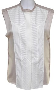 Bottega Veneta Top White, Blush (Beige Undertone)