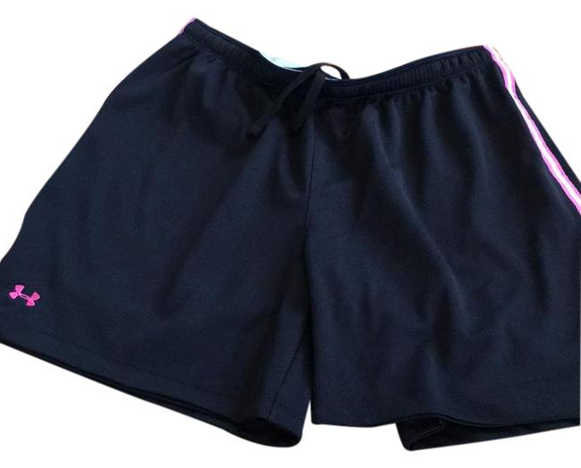 Item - Black with Pink Heat Gear Activewear Bottoms Size 8 (M)