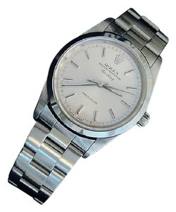 Rolex Mens Rolex Stainless Steel Air-King Silver 14000