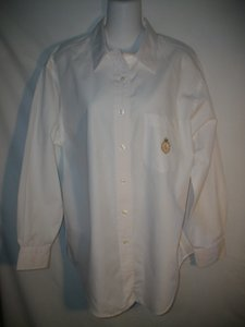 Ralph Lauren Vintage Shirt Button Down Shirt White