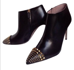 Gucci Studded Leather Black Boots