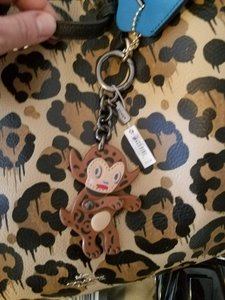 Coach COACH Baseman Bag Charm for Christine